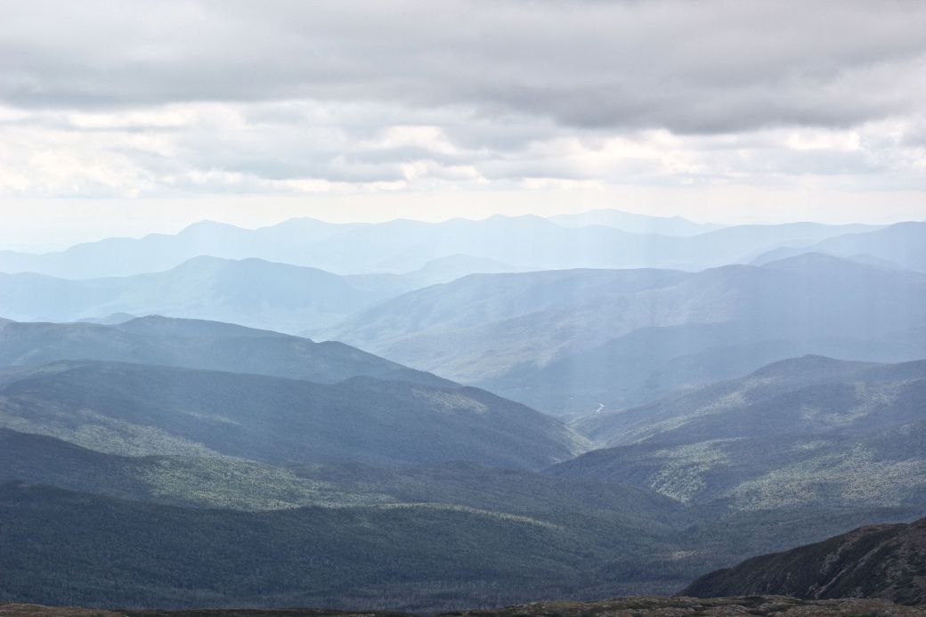 new hampshire presidential mountain range mount washington summit 36