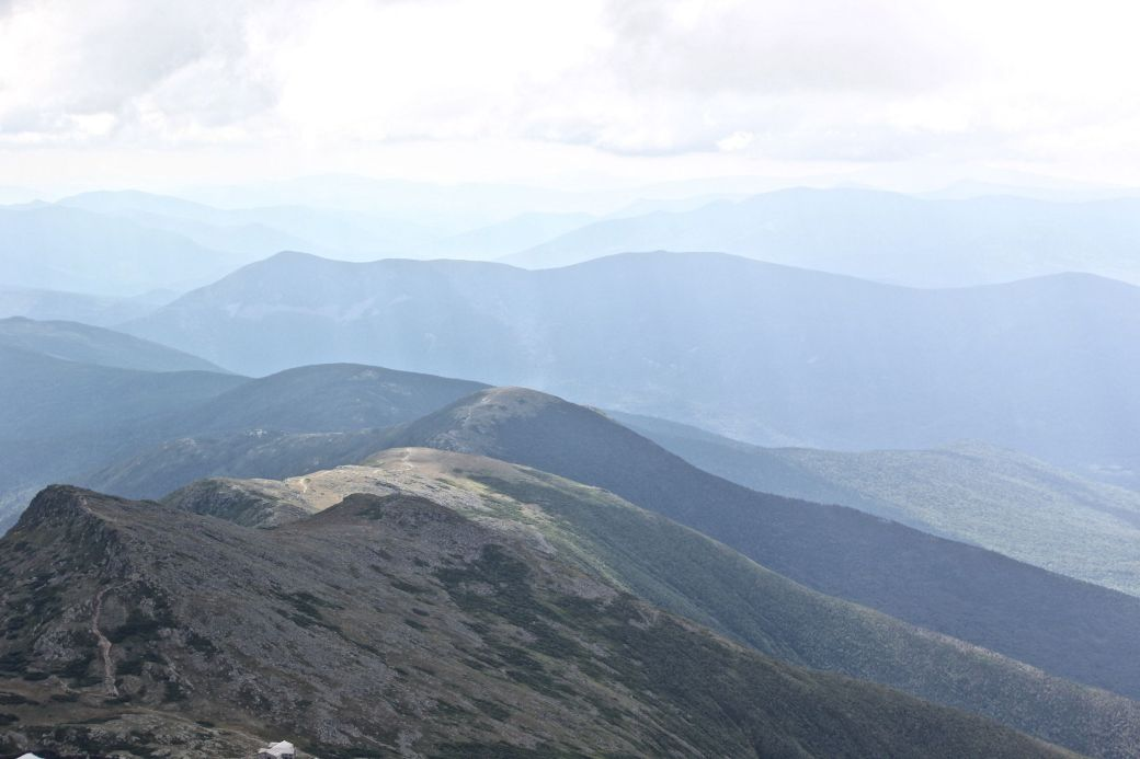 new hampshire presidential mountain range mount washington summit 37