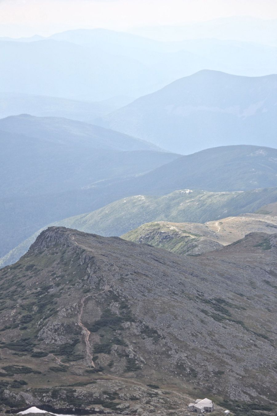 new hampshire presidential mountain range mount washington summit 41