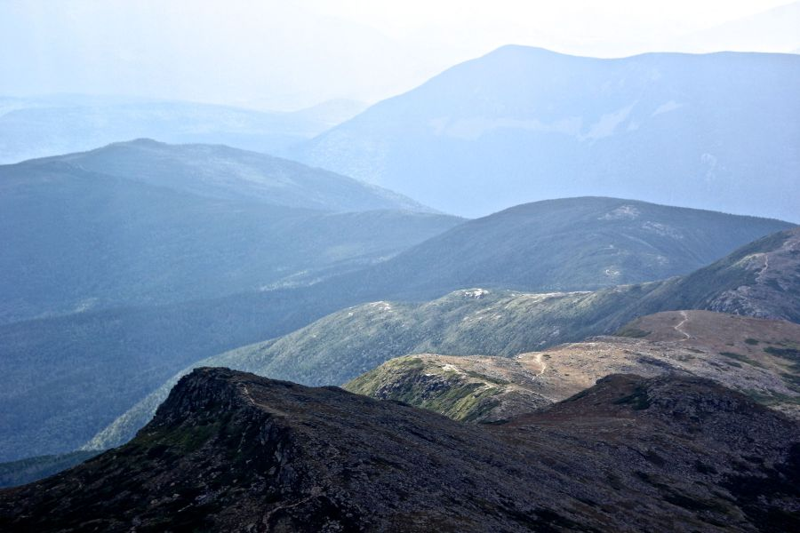 new hampshire presidential mountain range mount washington summit 43