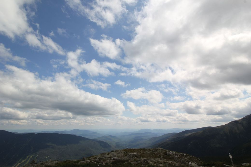 new hampshire presidential mountain range mount washington summit 45