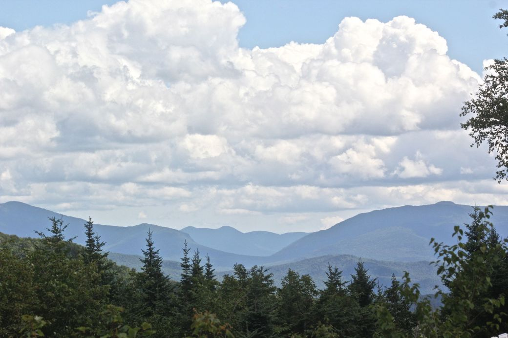 new hampshire woodstock white mountains lost river clouds mountains