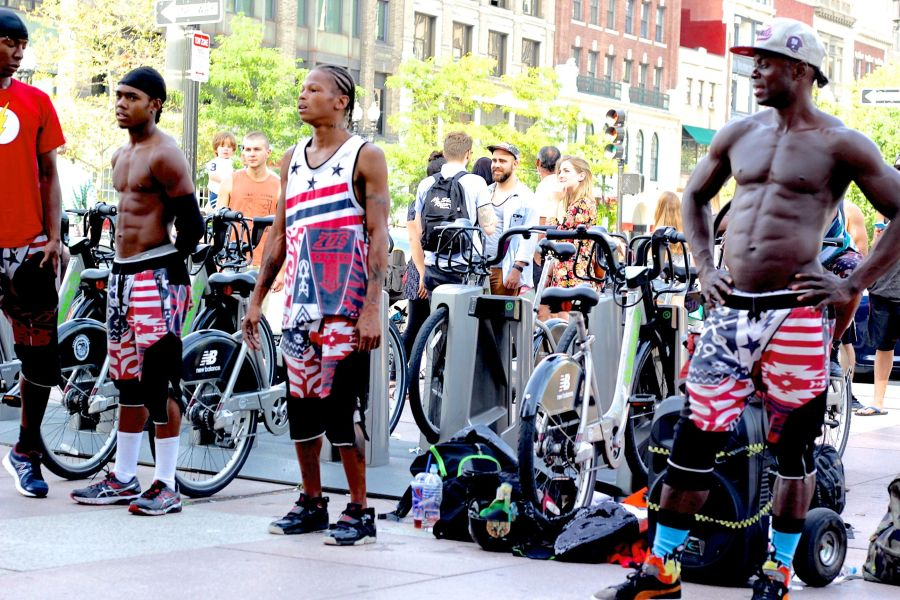boston copley square street perfomers 1