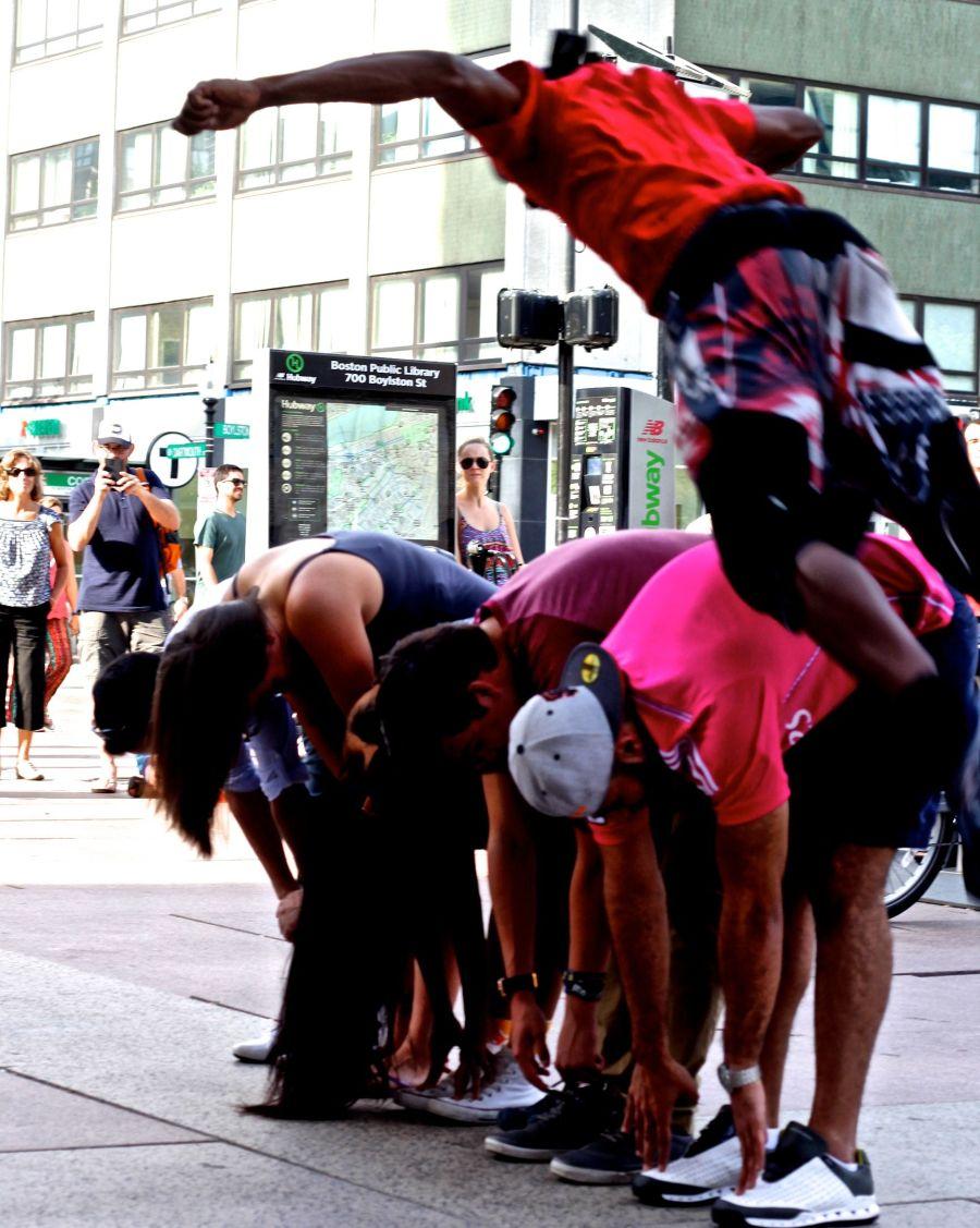 boston copley square street perfomers 6