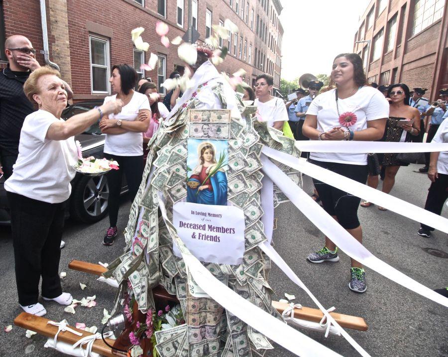 boston north end santa lucia festival august 31 12