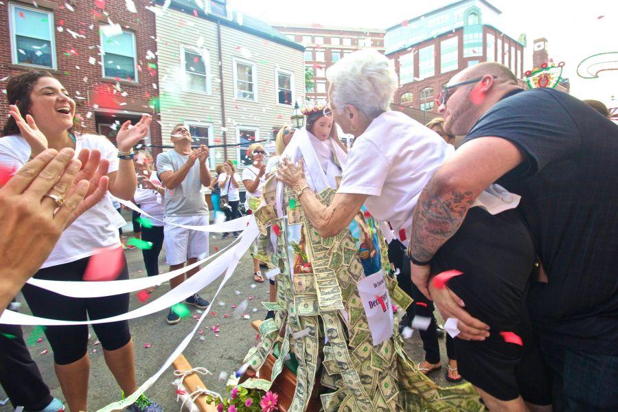 boston north end santa lucia festival august 31 13