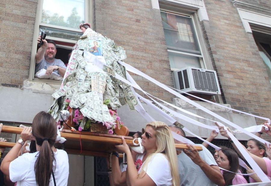 boston north end santa lucia festival august 31 14