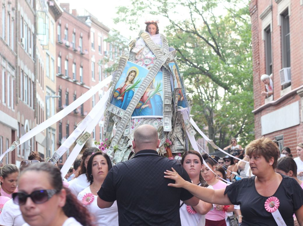 boston north end santa lucia festival august 31 4