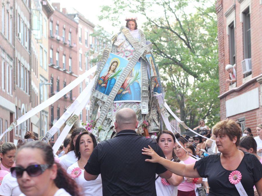 boston north end santa lucia festival august 31 4