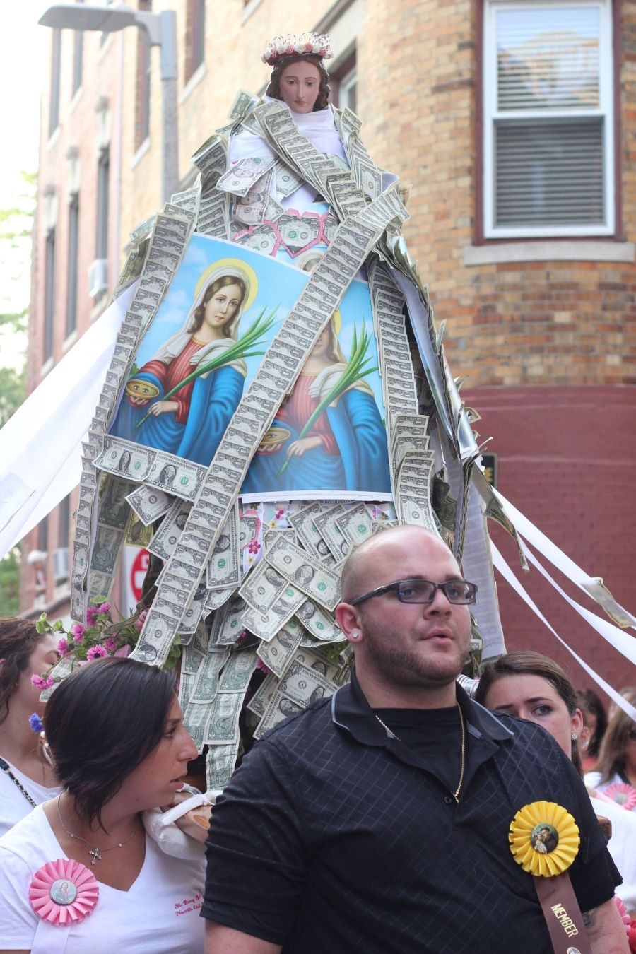 boston north end santa lucia festival august 31 5