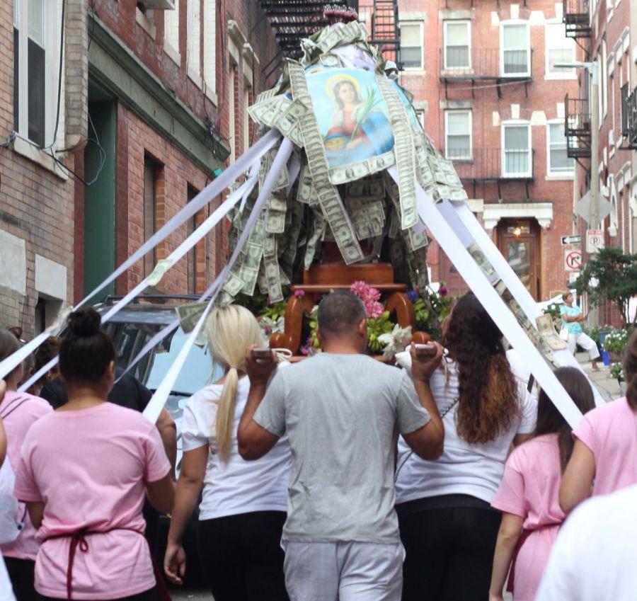 boston north end santa lucia festival august 31 6
