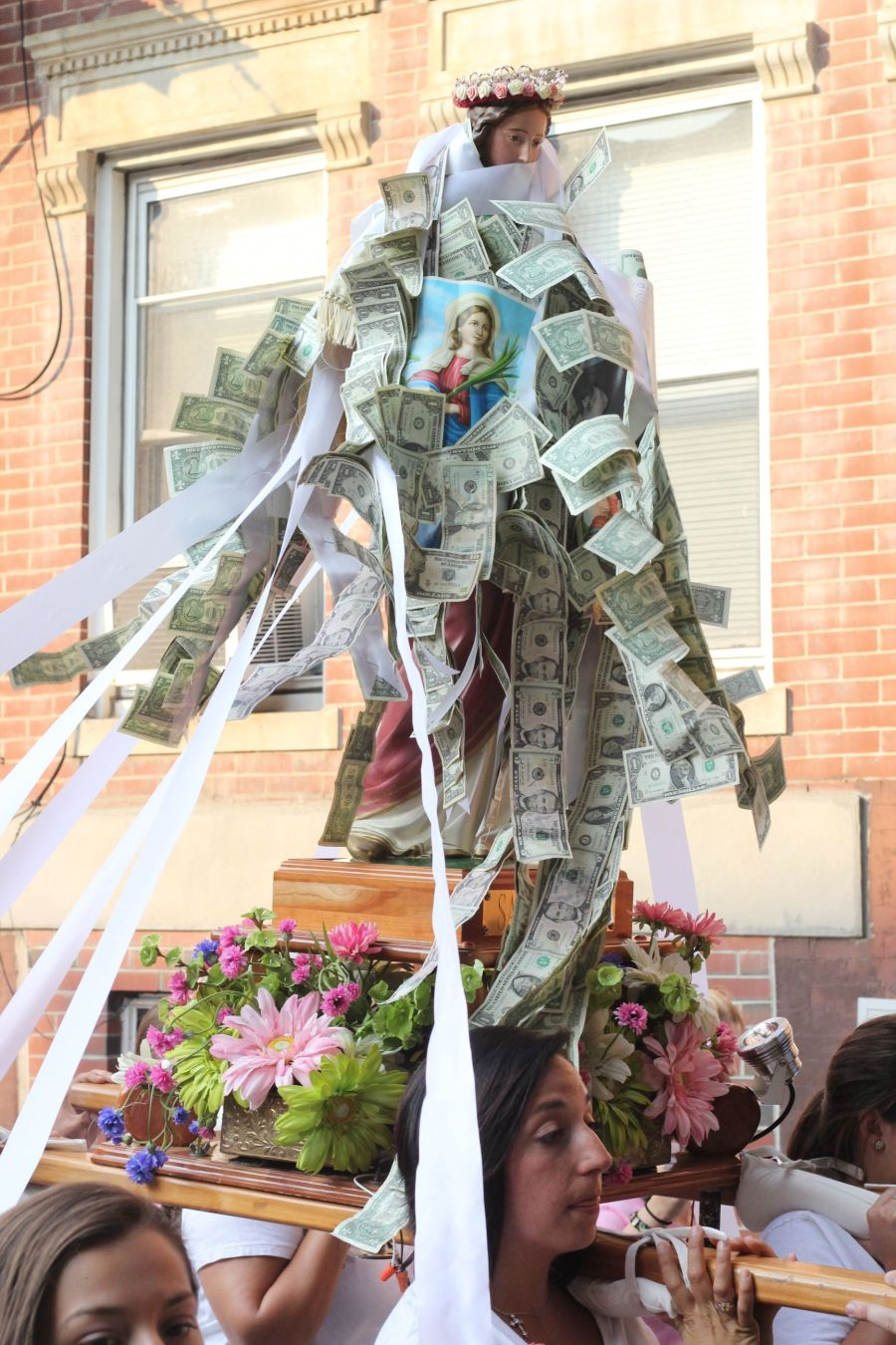 boston north end santa lucia festival august 31 8