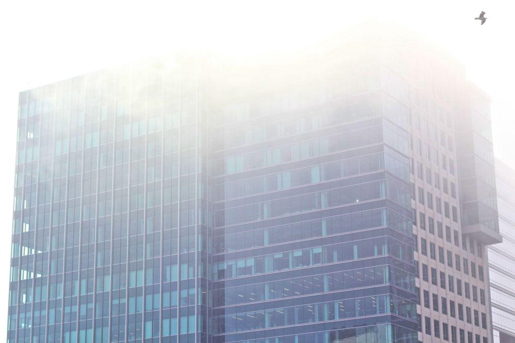 boston seaport district building fog 3