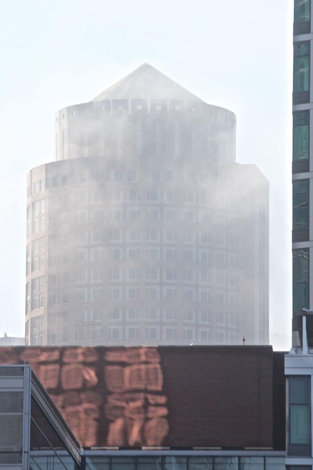 boston seaport district building fog 7