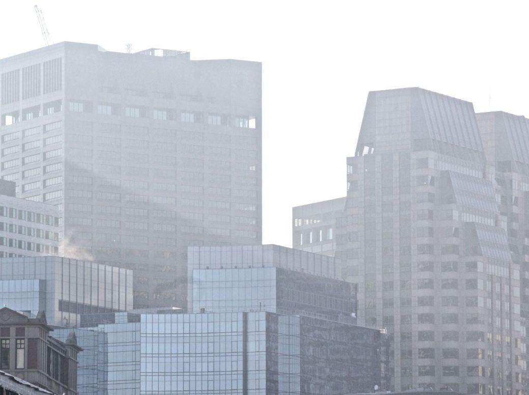 boston seaport district building fog 9