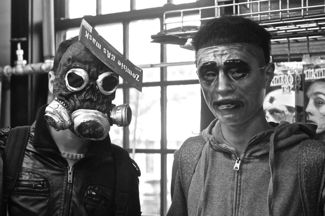cambridge garment district friends with masks