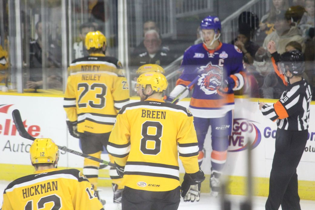 providence bruins bridgeport sound tigers game october 16 1