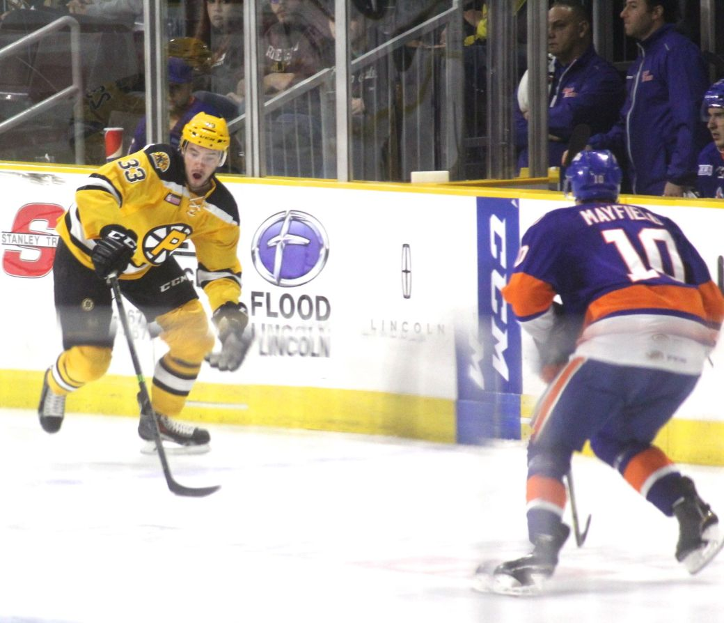providence bruins bridgeport sound tigers game october 16 12