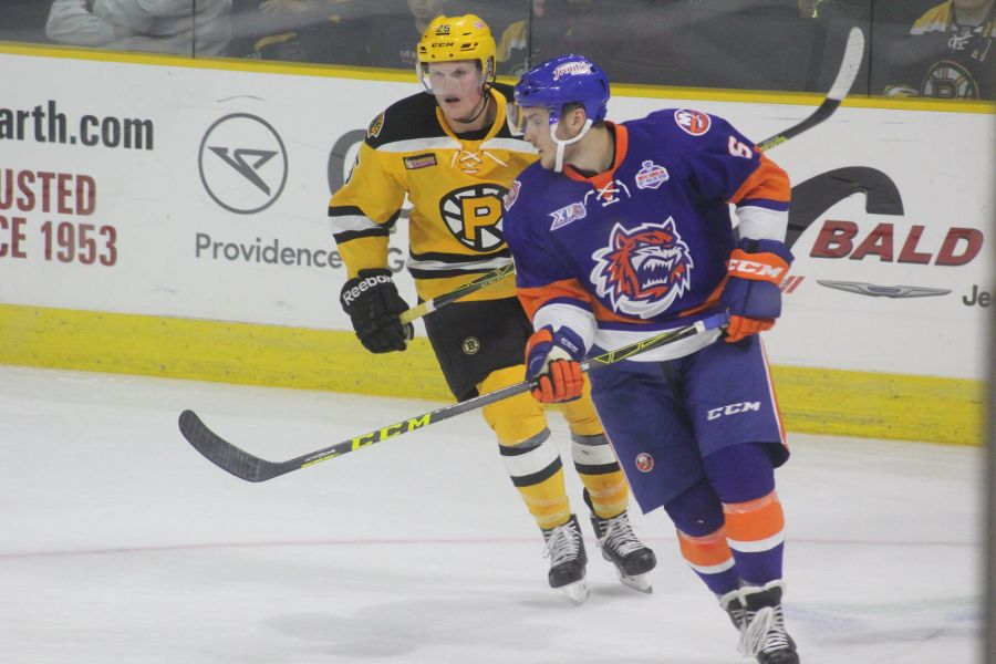 providence bruins bridgeport sound tigers game october 16 17