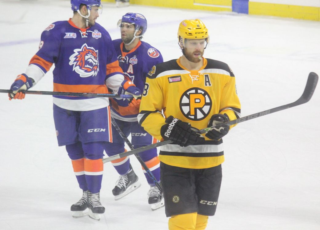 providence bruins bridgeport sound tigers game october 16 5