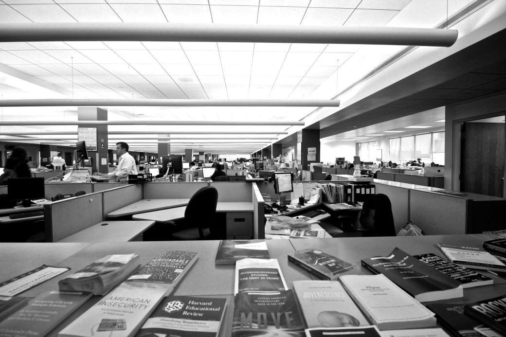 boston globe newsroom