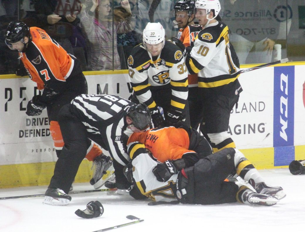 providence bruins lehigh valley phantoms 16