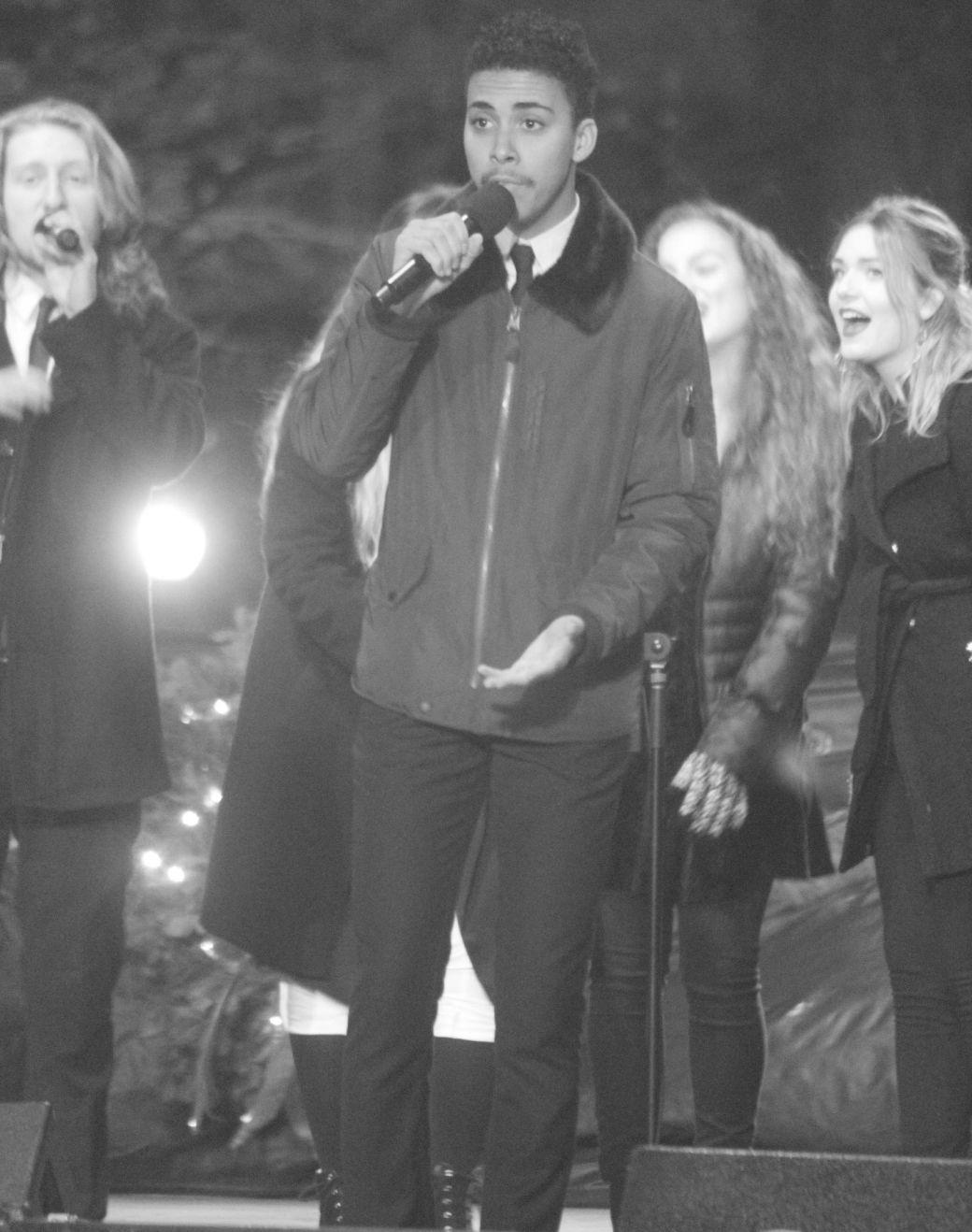 boston common christmas tree lighting december 3 2015 berklee performers