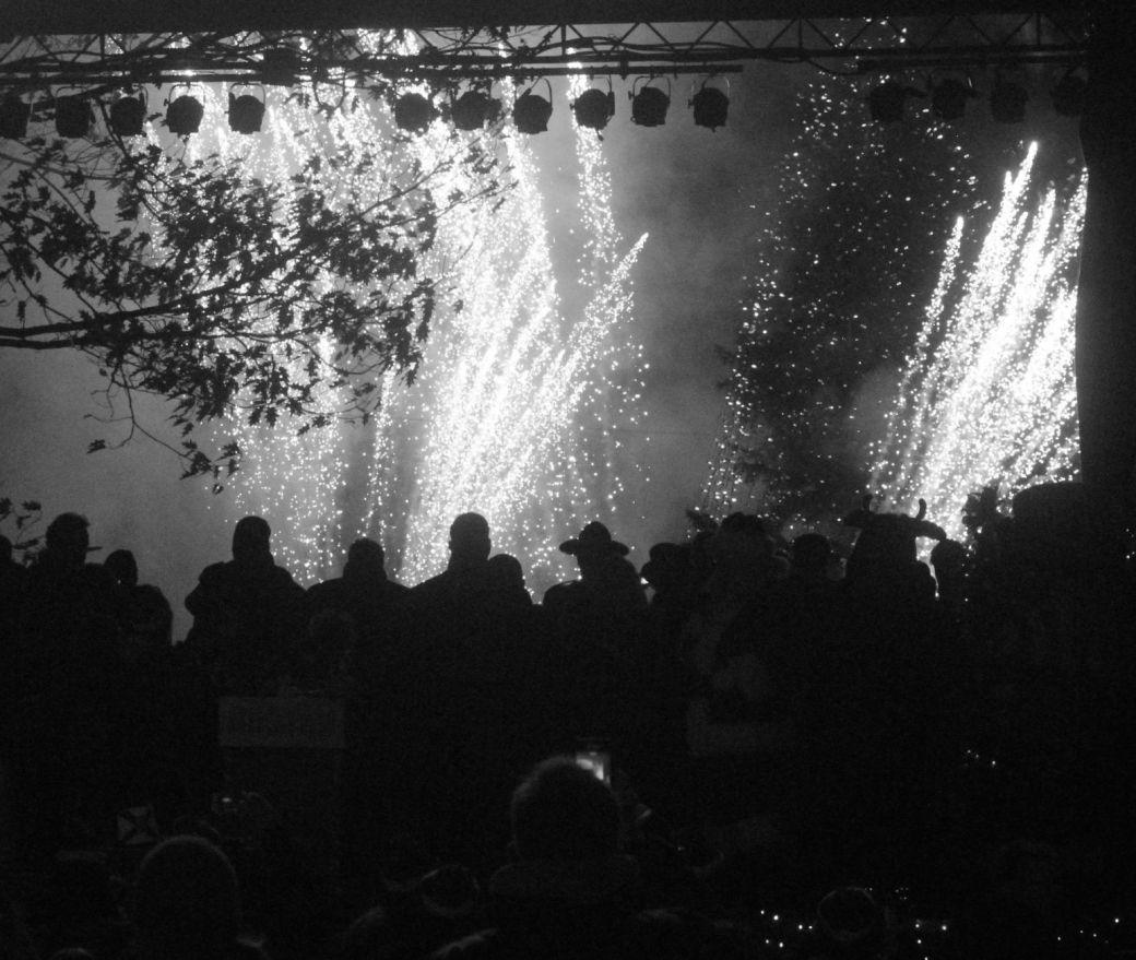 boston common christmas tree lighting december 3 2015 fireworks