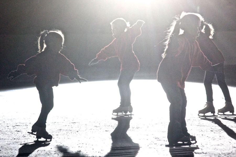 boston common christmas tree lighting december 3 2015 frog pond skating show skaters