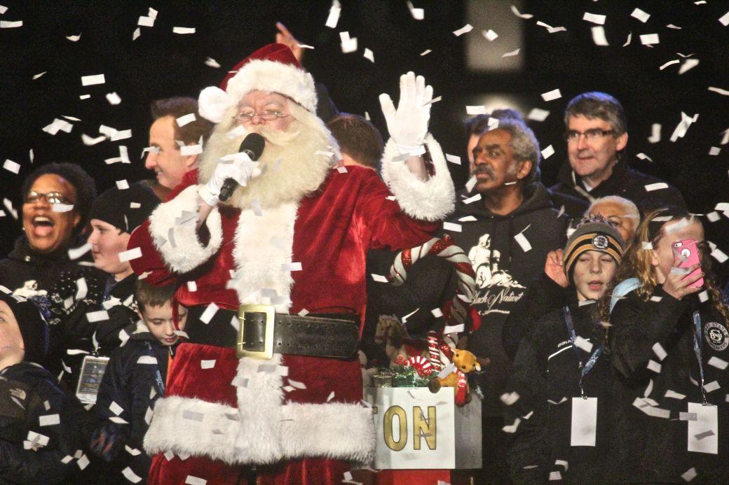 boston common christmas tree lighting december 3 2015 santa 2