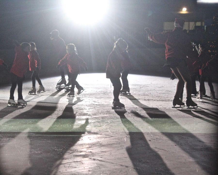 boston common christmas tree lighting december 3 2015 skating club of boston skaters 2
