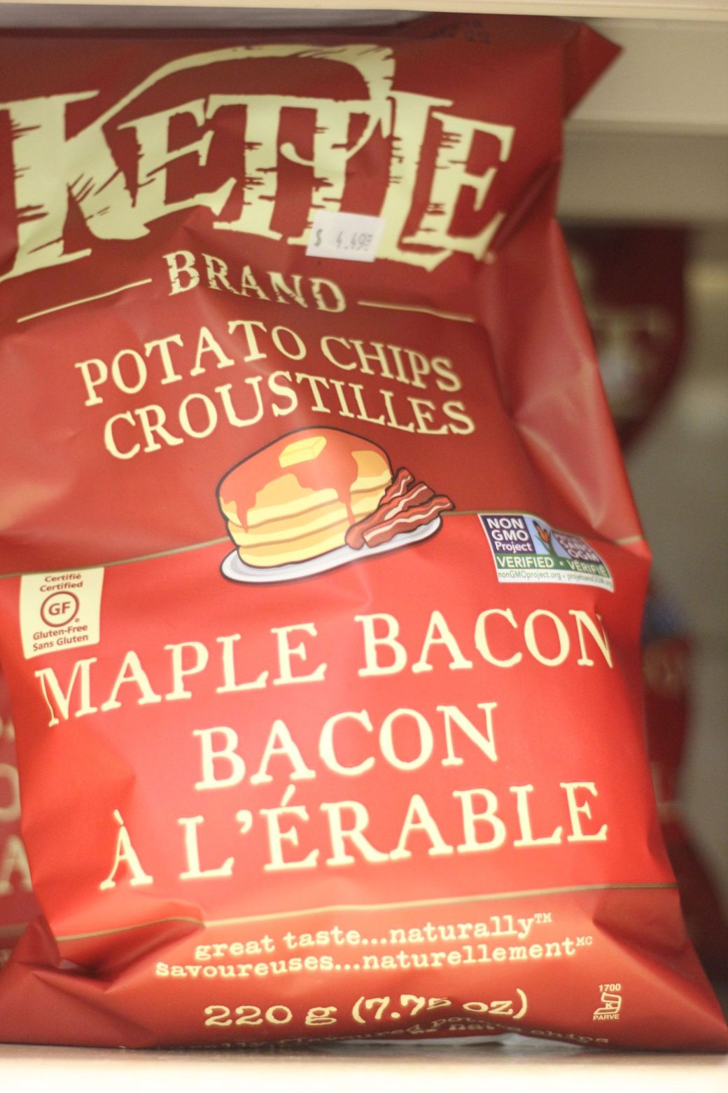 quebec city Marche du Vieux-Port de Quebec maple bacon potato chips