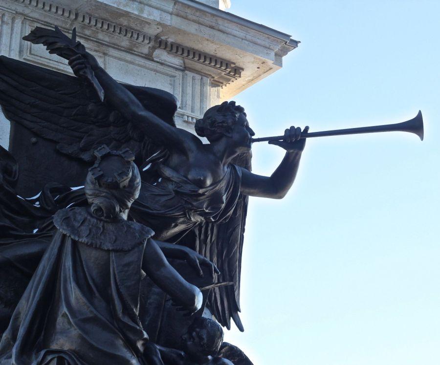 quebec quebec city angel statue