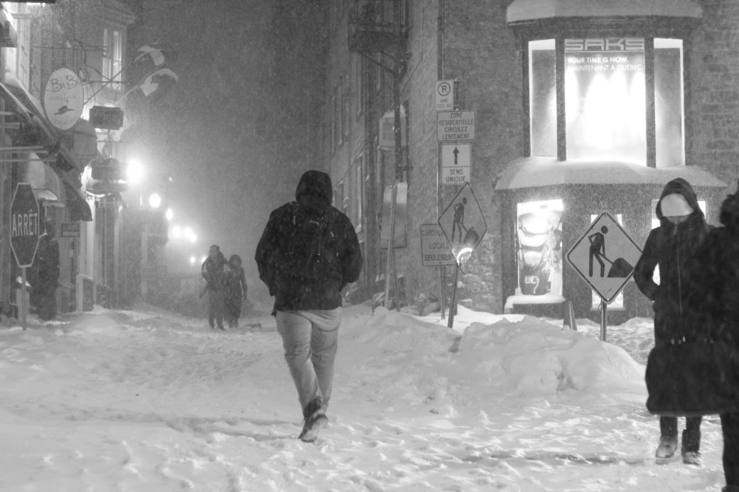 quebec quebec city snow storm december 29 2015 11