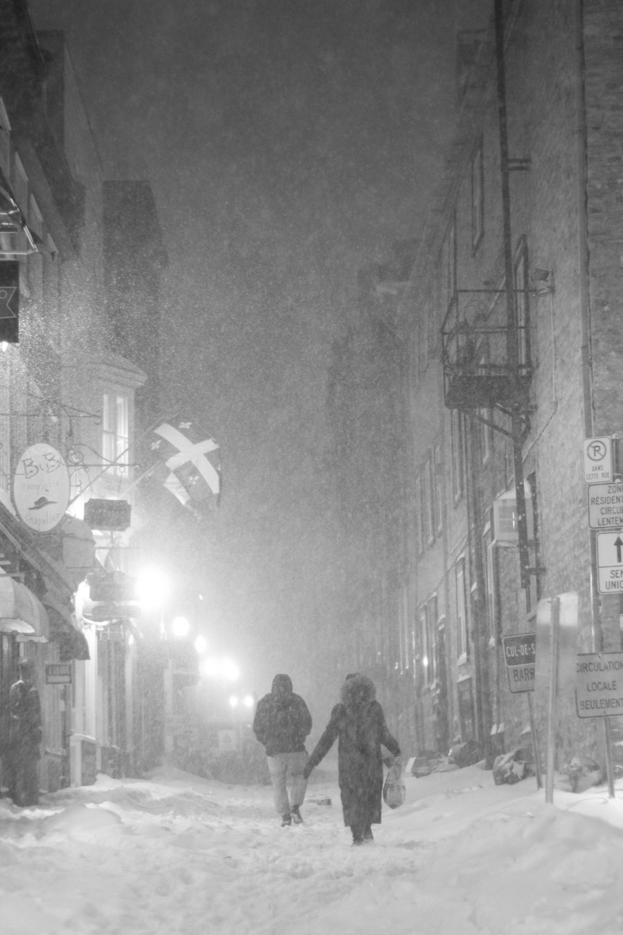 quebec quebec city snow storm december 29 2015 12