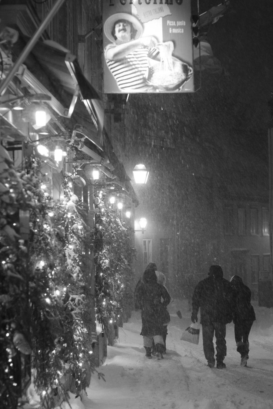 quebec quebec city snow storm december 29 2015 8