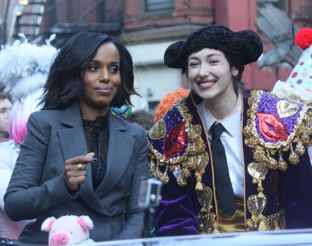 cambridge hasty pudding parade kerry washington january 28 2016 7