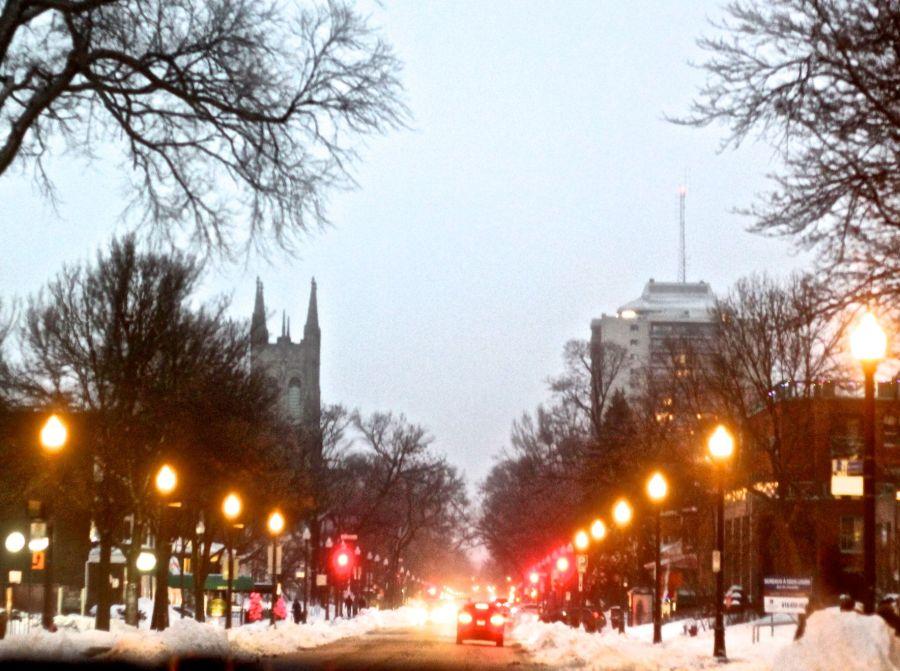 quebec city avenue lights