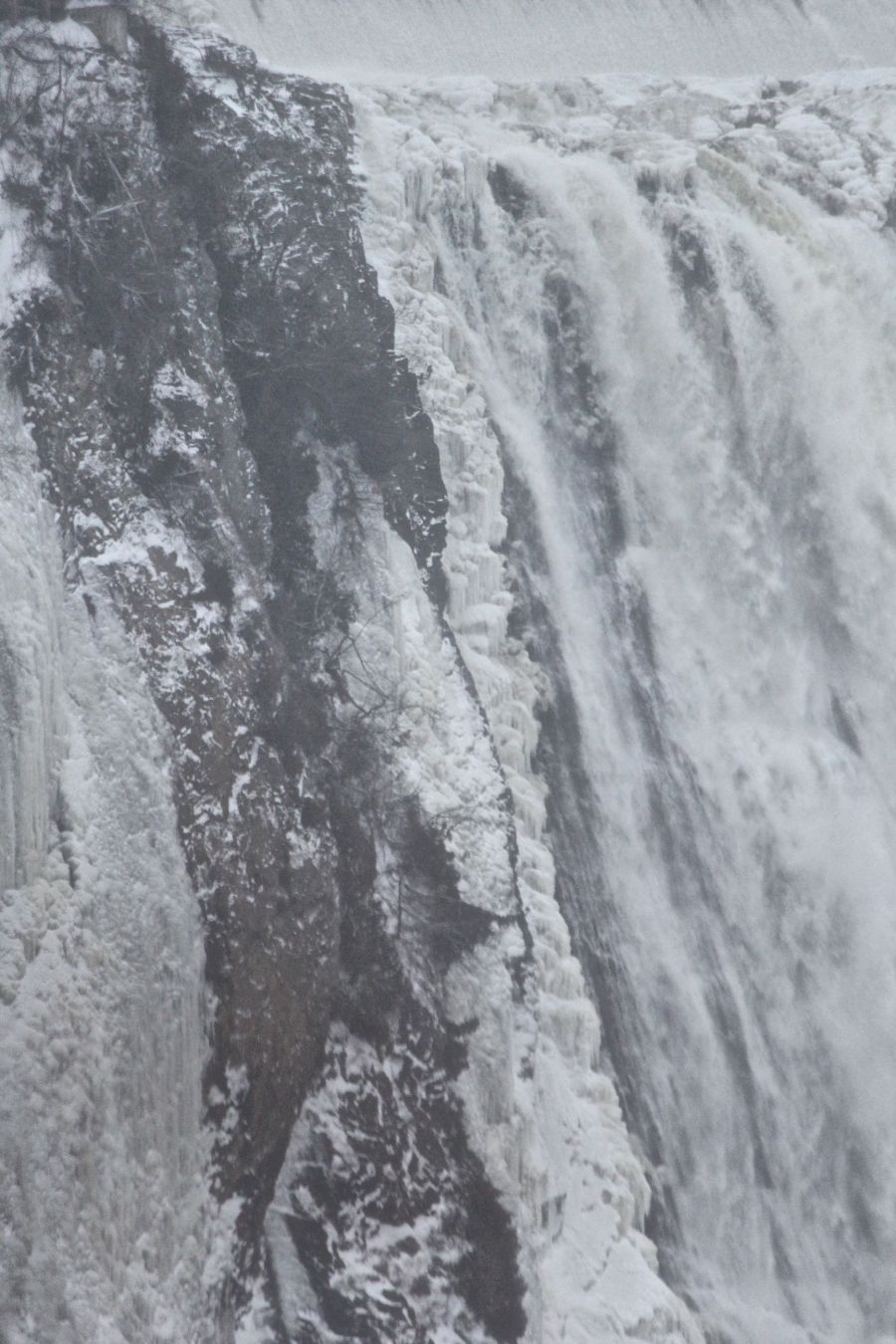 quebec city Montmorency Falls