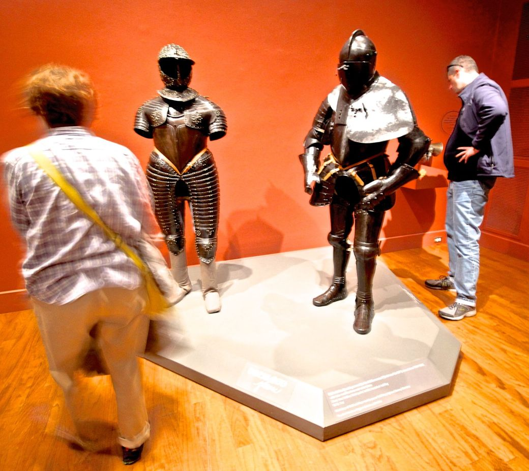worcester art museum suits of armour