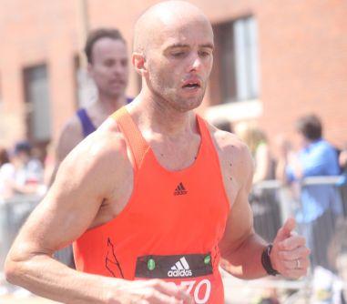 boston marathon april 18 2016 group orange shirt