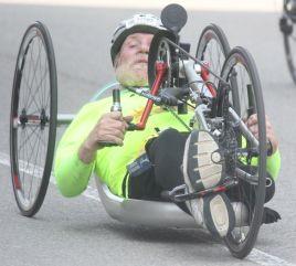 boston marathon april 18 2016 handicapped competitor