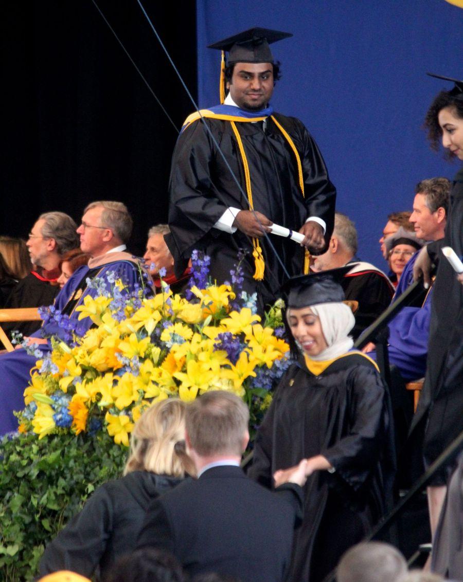 boston suffolk university graduation friend graduating 3