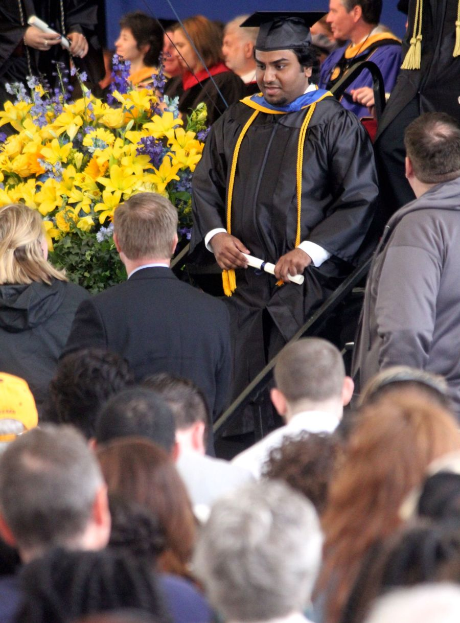 boston suffolk university graduation friend graduating 4