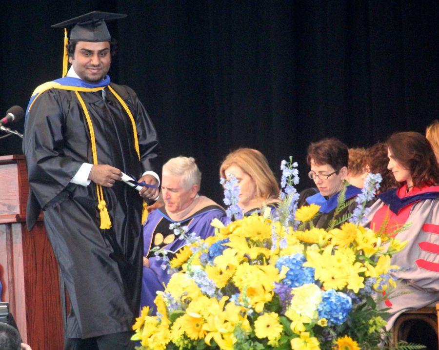 boston suffolk university graduation friend graduating 7
