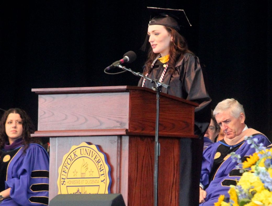 boston suffolk university graduation graduation speaker