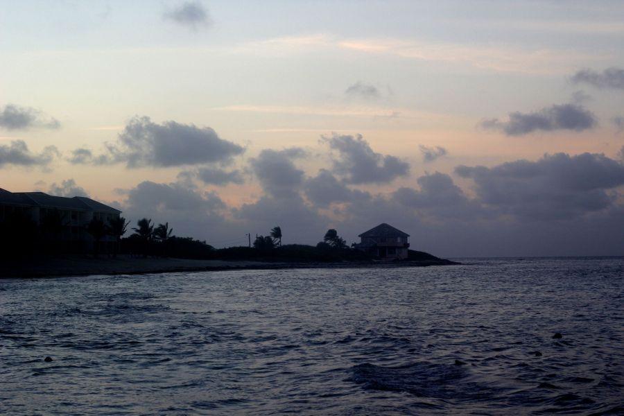 cayman islands reef resorts sunset 1