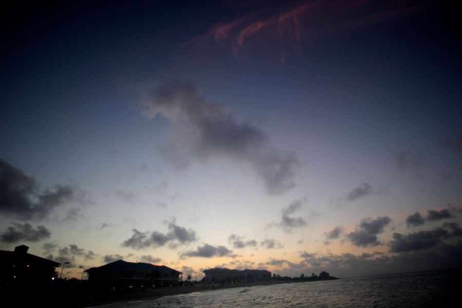 cayman islands reef resorts sunset 3