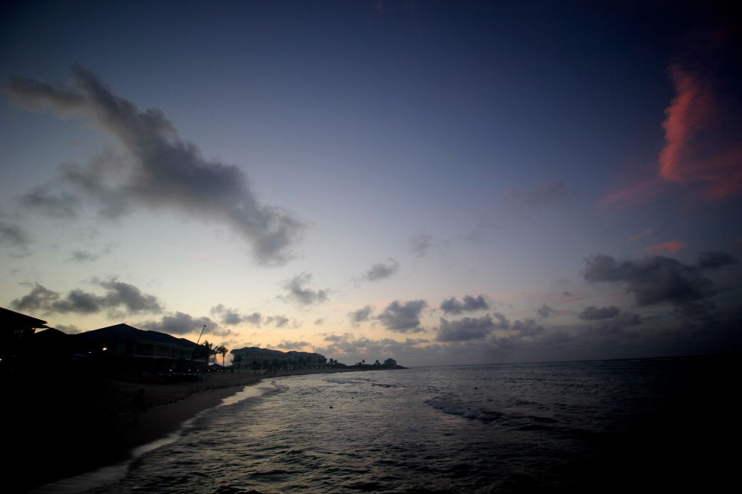 cayman islands reef resorts sunset 4