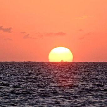 cayman islands rum point sunset 3